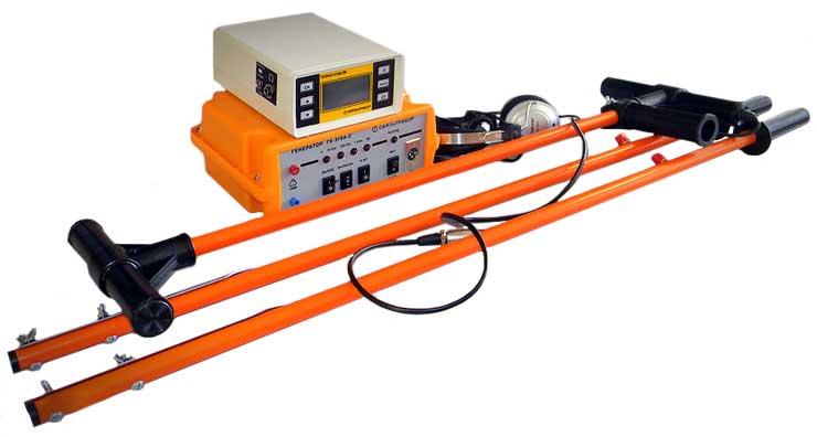 Комплект трассо-дефектоискателя ПОИСК-310Д-2М с генератором ГК-310А-2 и клещами КО-29