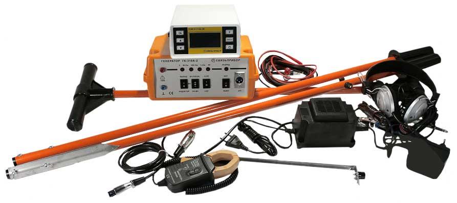 Поиск-310Д-2 (2) комплект трассо-дефектоискателя ПОИСК-310Д-2М с дополнительным приемником ПОИСК-310