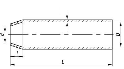Муфта свинцовая одноконус. МССО-0,2