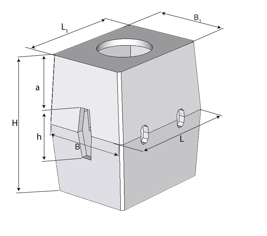 Колодец ККСр-2-10(80) ГЕК