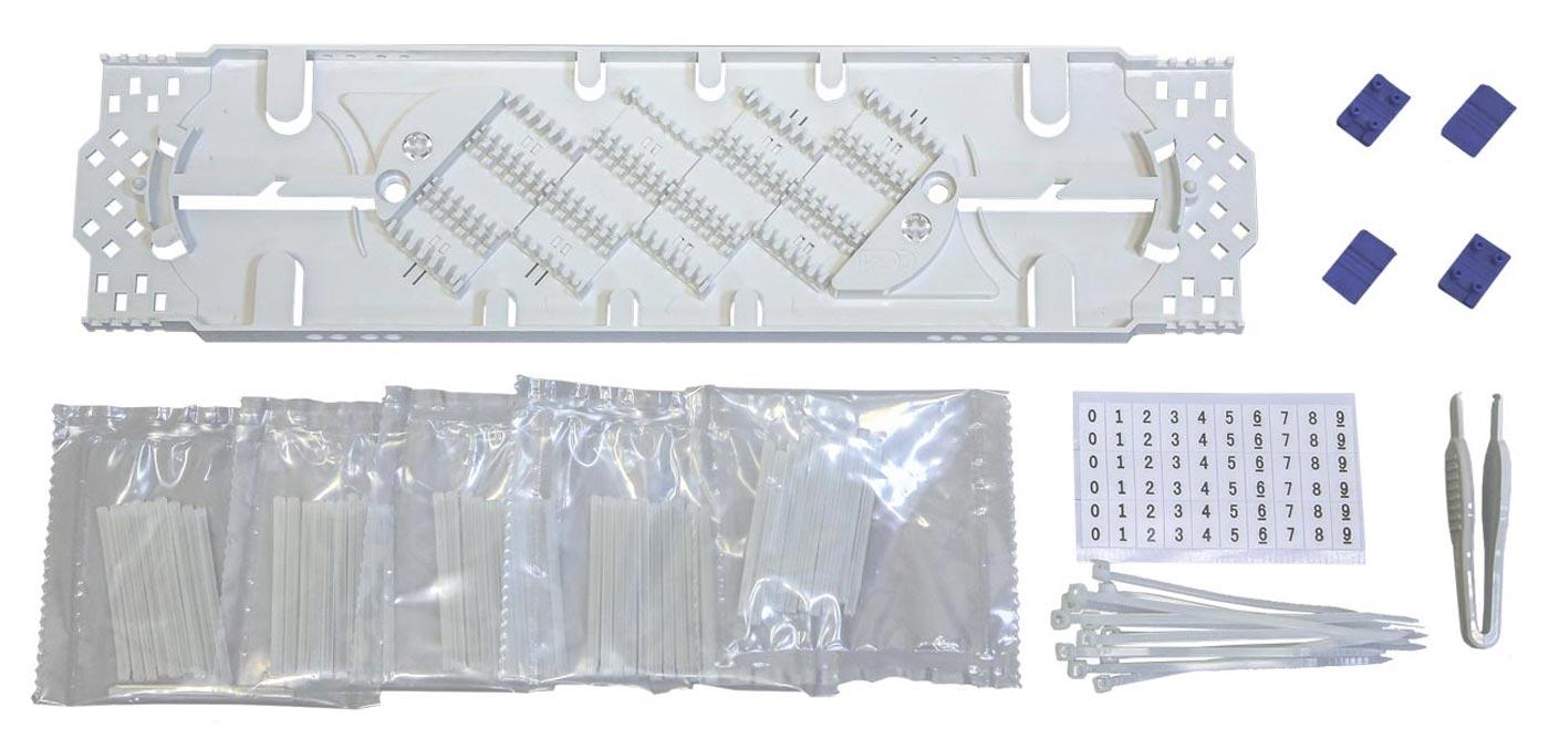 Комплект кассеты К48-4525 (стяжки, маркеры, КДЗС 50шт.)