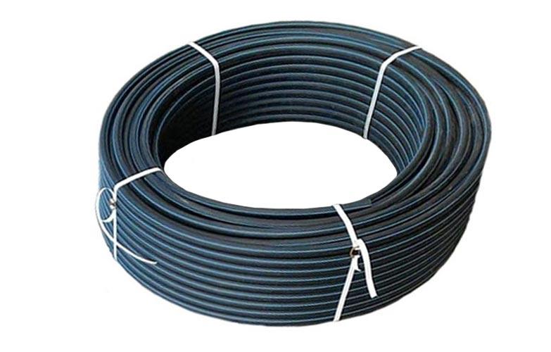 Труба напорная ПНД ПЭ100 SDR17 d90 х 5,4 L=100 м (бухта) ГОСТ 18599-2001 без защитного слоя Протект