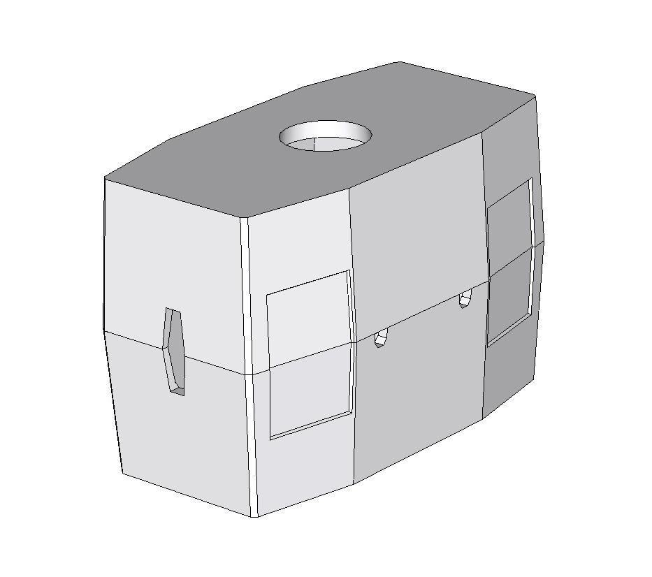 Колодец ККСр-5-80 ГЕК (с 4-мя нишами)