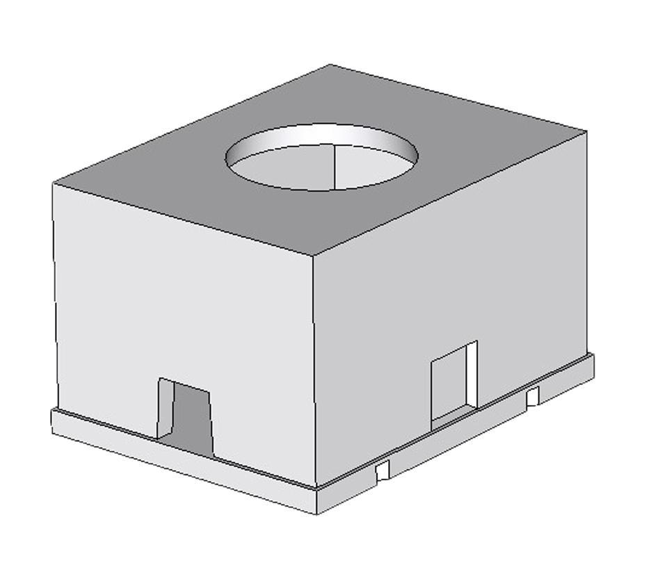 Колодец ККСр-1М-10(80) ГЕКон (с ершами и кронштейнами)