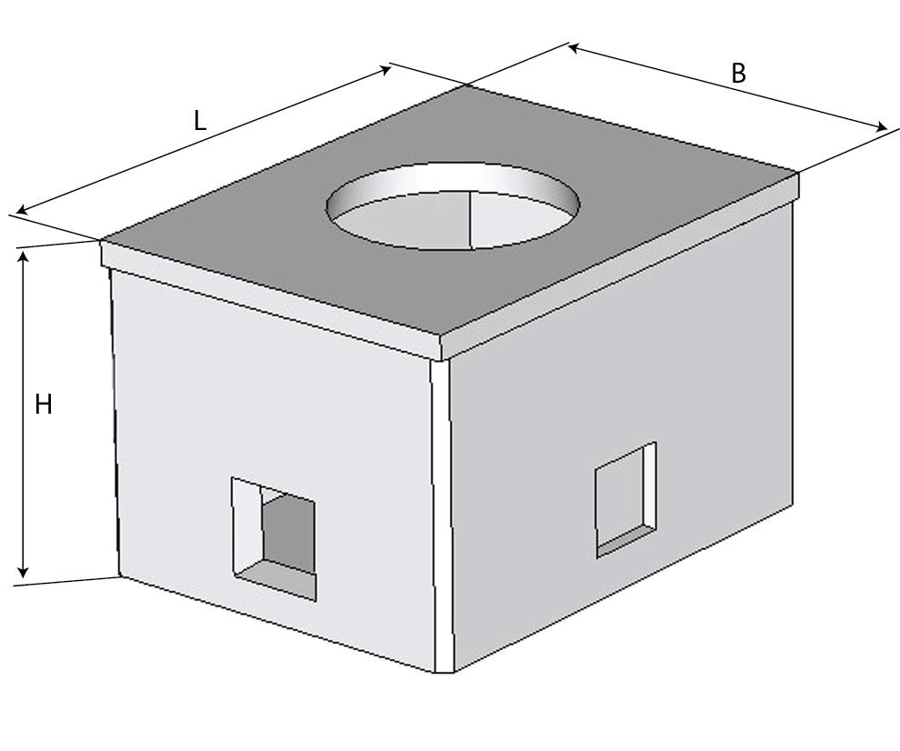 Колодец ККСр-1-10(80) ГЕКон