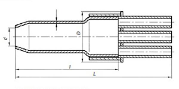 Муфта свинцовая разветв. станционная 8МСР 8=8х1